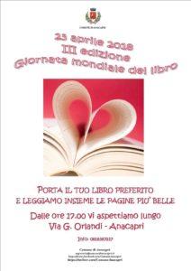 Massimo Maresca giornata mondiale del libro