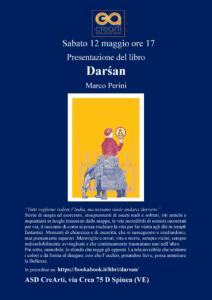 darsan presentazione presso il Centro Studi Arti Orientali CREARTI