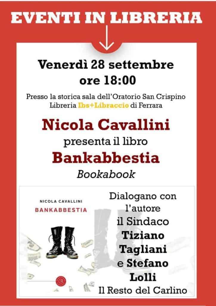 presentazione del libro Bankabbestia