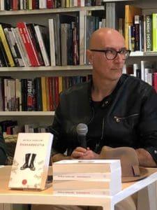 presentazione presso la libreria IBS Libraccio di Ferrara autore