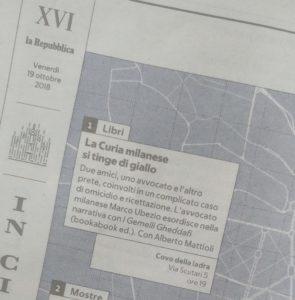 La Repubblica Milano libro I gemelli Gheddafi