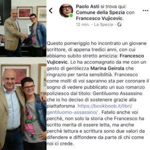 Incontro presso Comune di La Spezia con il Sig Paolo Asti