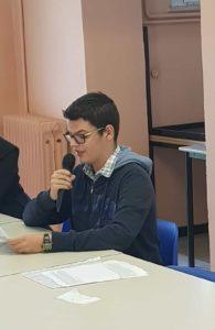 Scuola Media Fontana Formentini presentazione libro Gentiluomo Assassino
