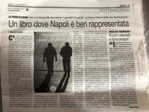 Il giornale di Napoli recensione I gemelli Gheddafi