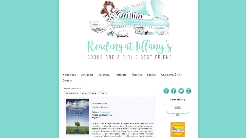 Recensione su Reading at Tiffany's