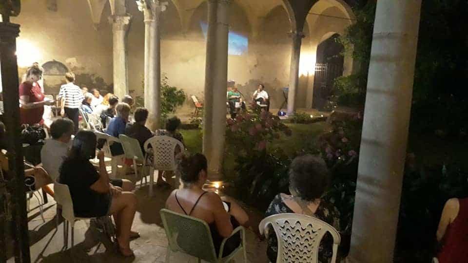 giardino di Palazzo Numai Foschi
