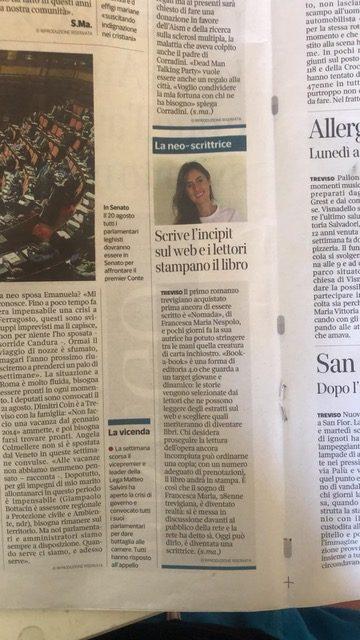Il Corriere del Veneto parla di Nomada
