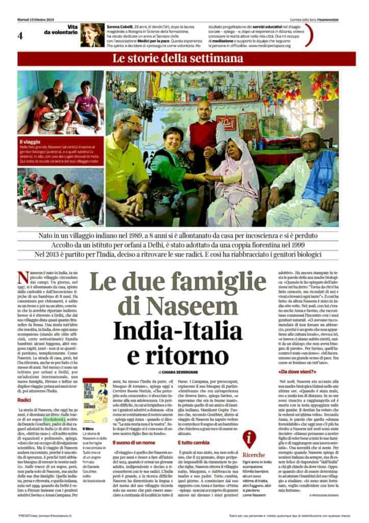 Buone notizie del Corriere della Sera