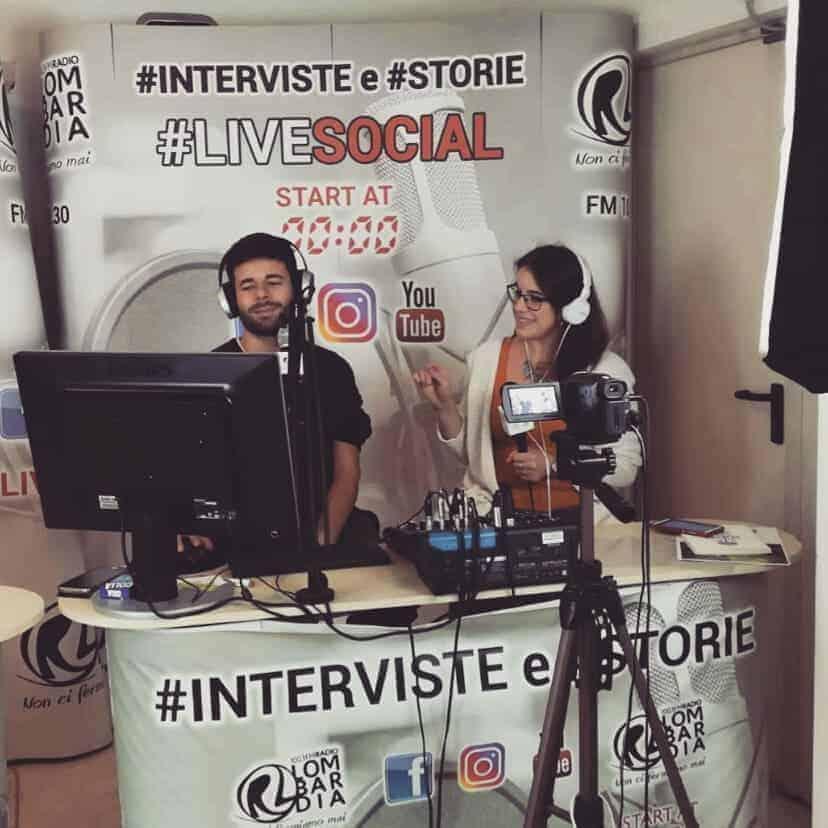 intervista in radio Fuga da Gardenia