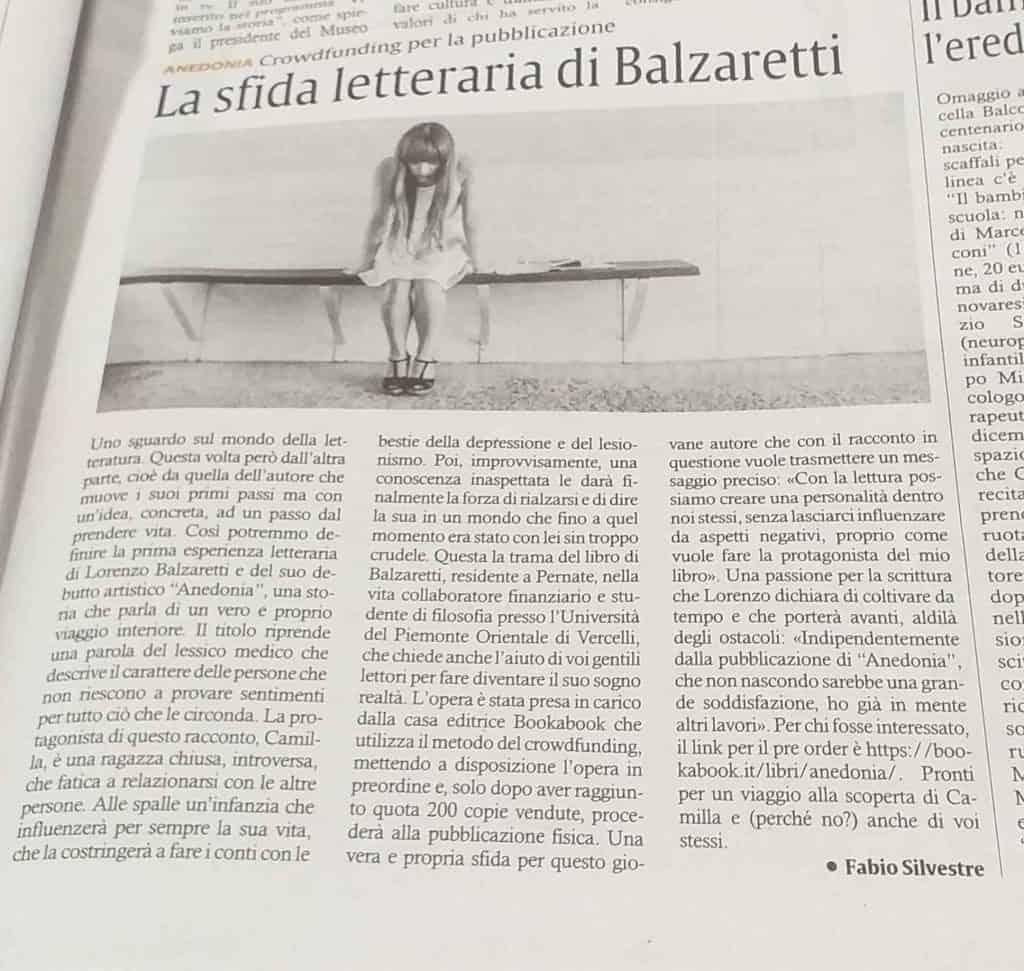 Il Corriere di Novara balzaretti