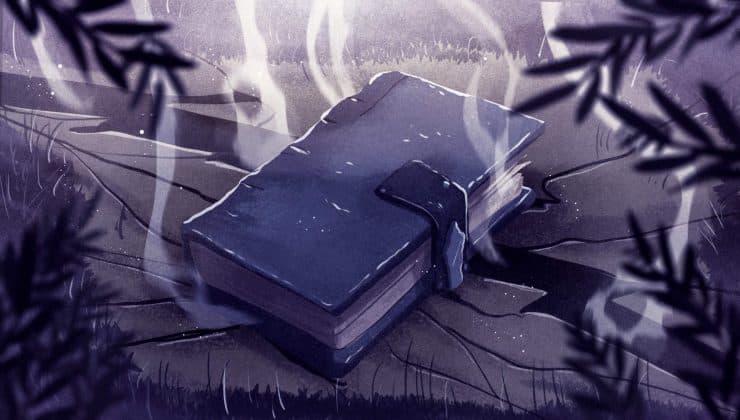 ll libro magico di Alba ne Il sapore del gesso