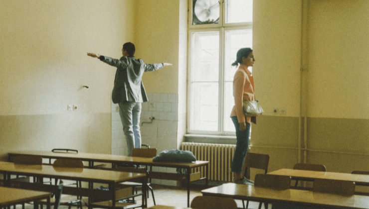 La cattedra rovesciata - un insolito anno scolastico