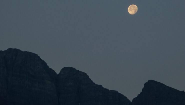 Quella notte in montagna