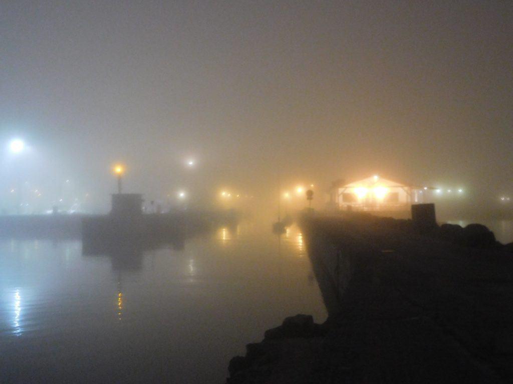 nebbia paesaggio