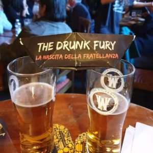 the Drunk Fury fratellanza birra