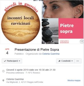 Aperidialogo tra Stefania Sabattini e Federico Alessandro Amico