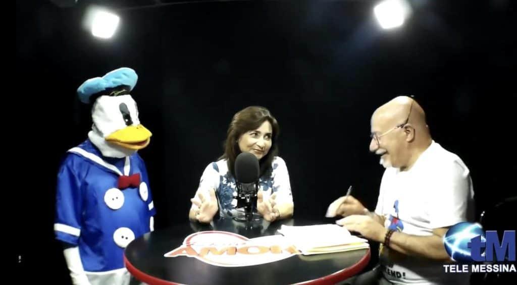 Intervista radiofonica in diretta dagli studi di Radio Amore