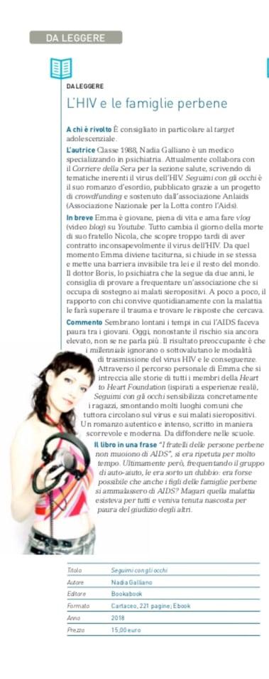Valeria Esposito Ordine dei Medici di Milano recensione Seguimi con gli occhi