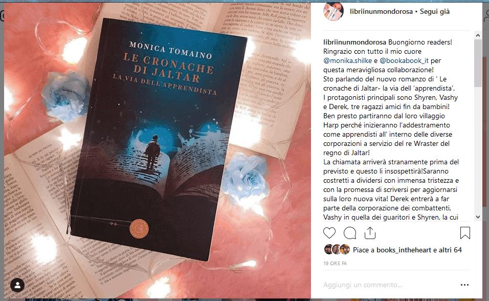 libriinunmondorosa su Instagram