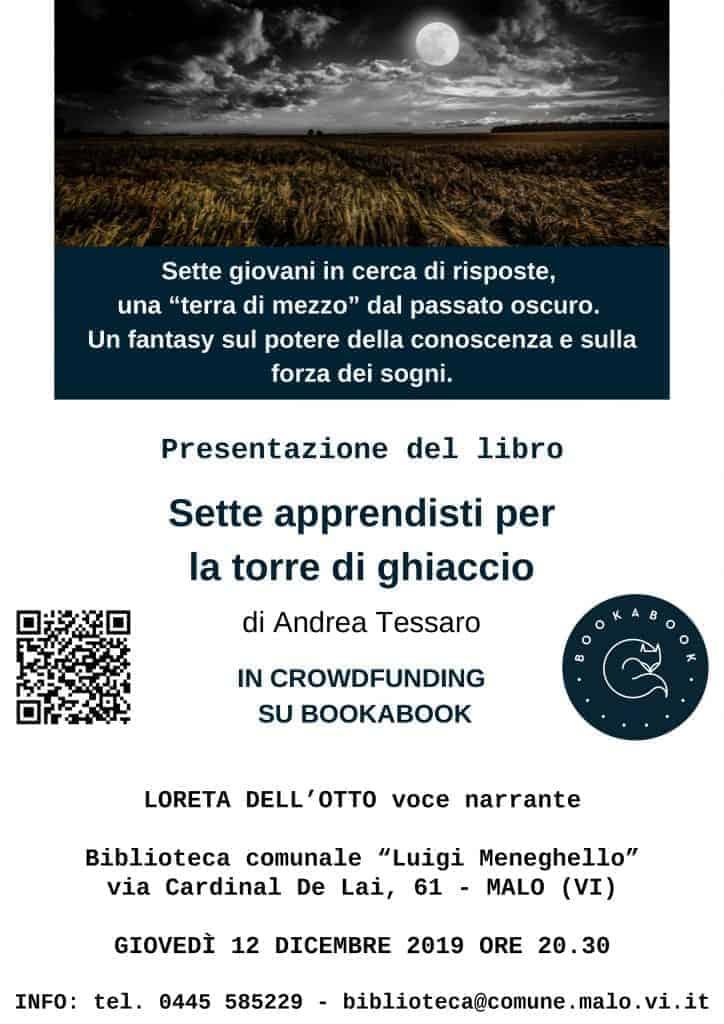 Presentazione del libro con l'autore e Loreta Dell'Otto