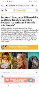 Un articolo suIl Dolomiti