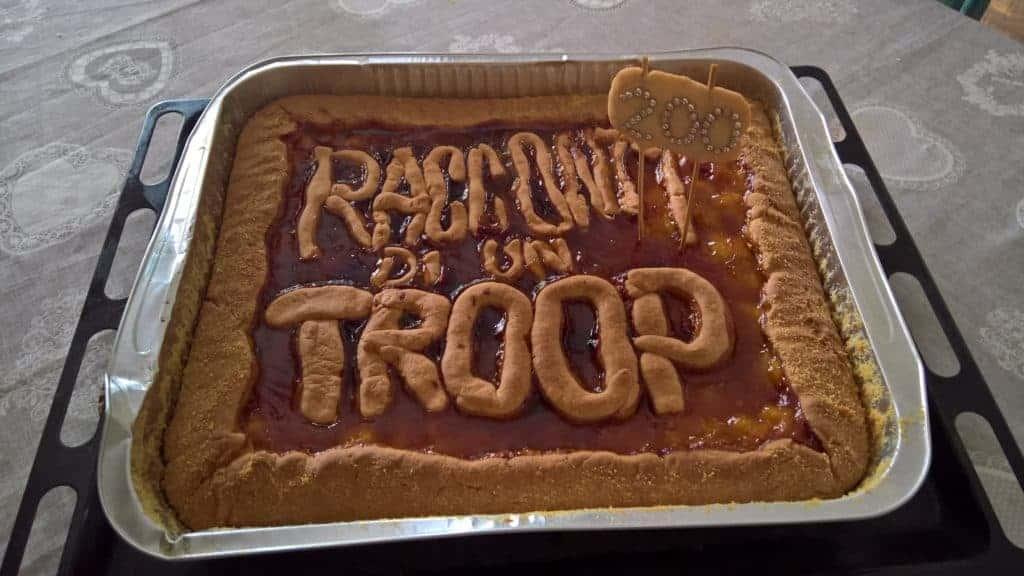 torta racconti di un troop