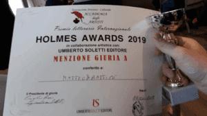 Premio Menzione Giuria agli Holden Awards 2019