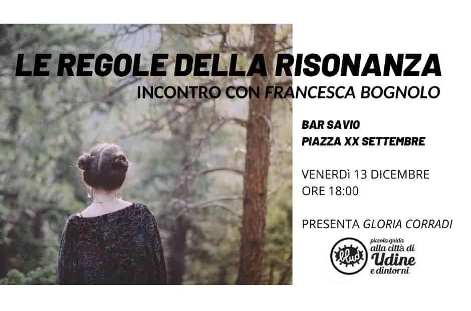 incontro con Francesca Bognolo