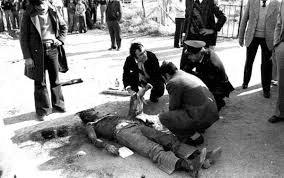 cadavere di Pier Paolo Pasolini