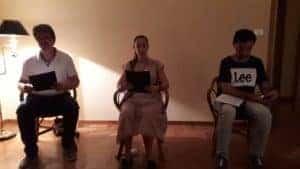 letture interpretate da Simona e Massimo